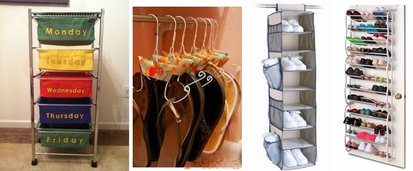 organizador de ropa y zapatos nios