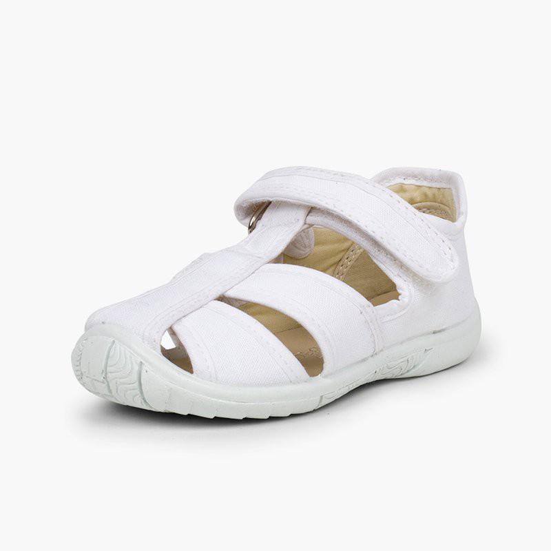 Pepitos Tipo Sandalia de Lona