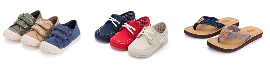 Variedad de calzado infantil para este Verano en Pisamonas!