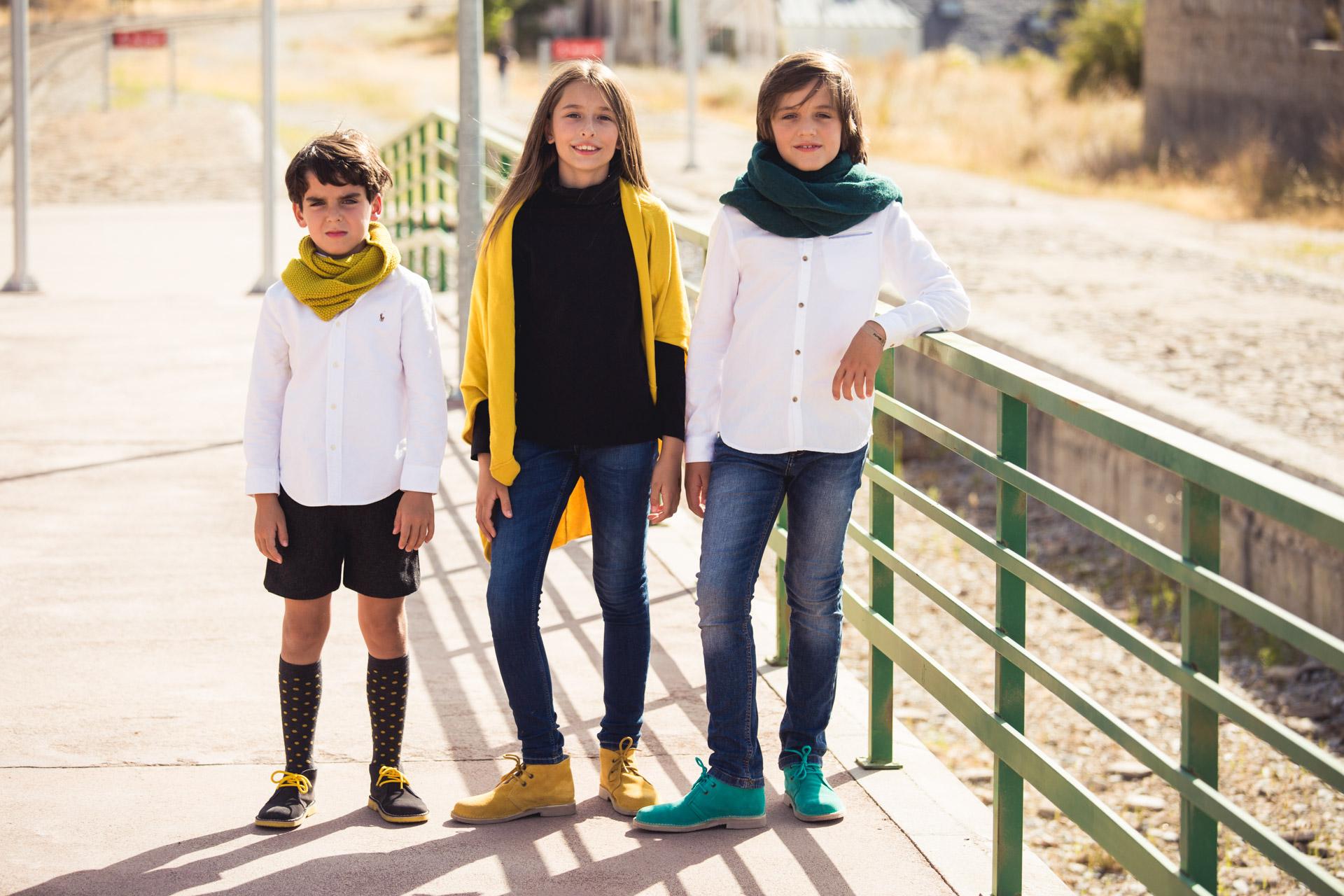 Lookbook Otoño Invierno 2016 - El calzado de niños y niñas, a buen precio