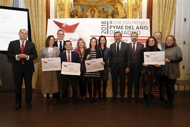 Premio Pyme del Año Comunidad de Madrid 2018