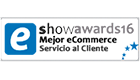 MEJOR ECOMMERCE SERVICIO AL CLIENTE SHOWAWARDS16 (2016)