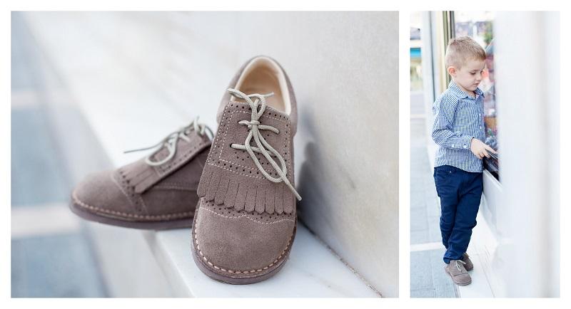 Zapatos de serraje para niños